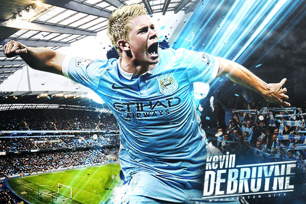 sports shoes d5486 3d265 1st Look: Kevin De Bruyne in His New Manchester City Kit ...