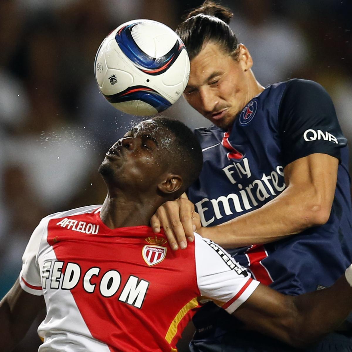 Bastia 0 3 Psg Match Report: Monaco Vs. PSG: Live Score, Highlights From Ligue 1