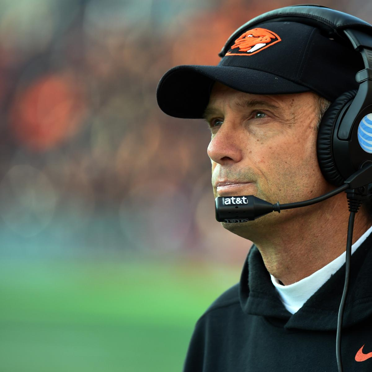 Oregon State, Former Football Coach Mike Riley Sued ...