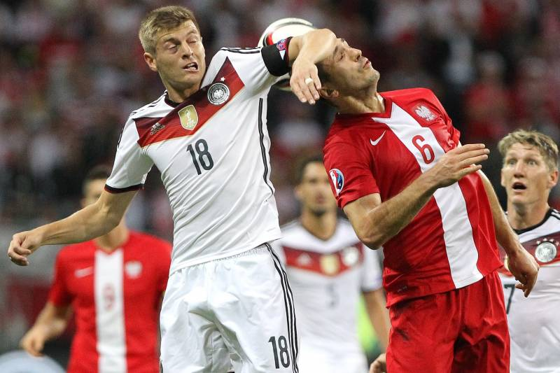Germany vs  Poland: Live Score, Highlights from Euro 2016 Qualifier