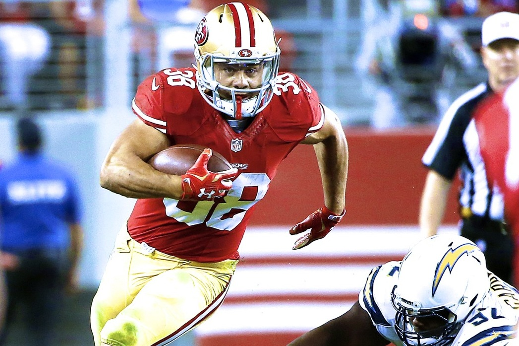 low priced ad99a a56cc Preseason Star Jarryd Hayne Earns Spot on 49ers Roster; Now ...