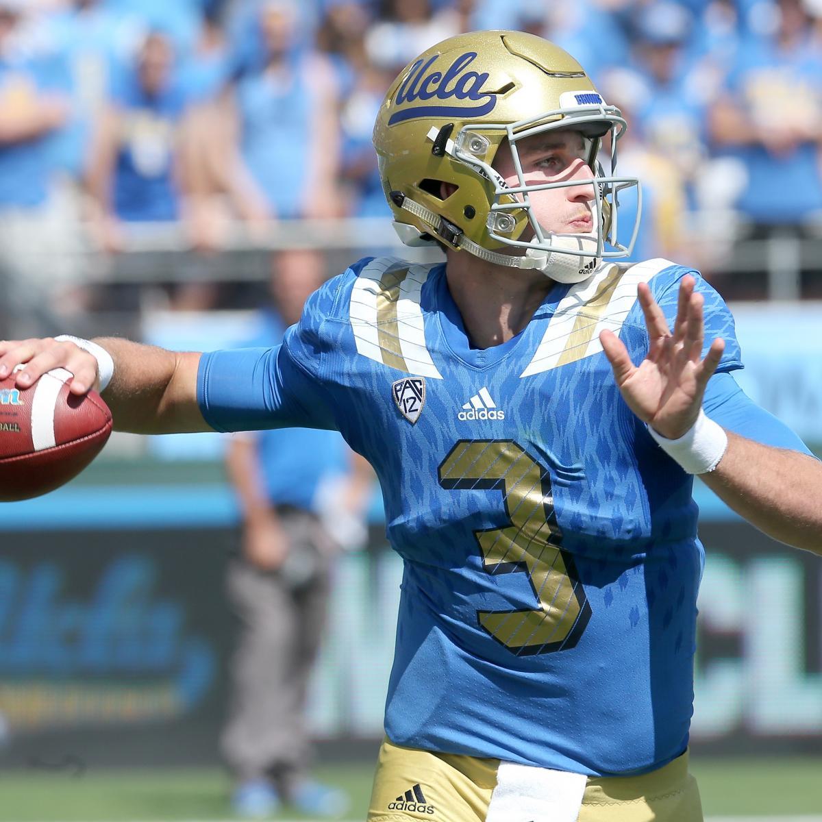 UCLA Football: Grading QB Josh Rosen's Debut For Bruins