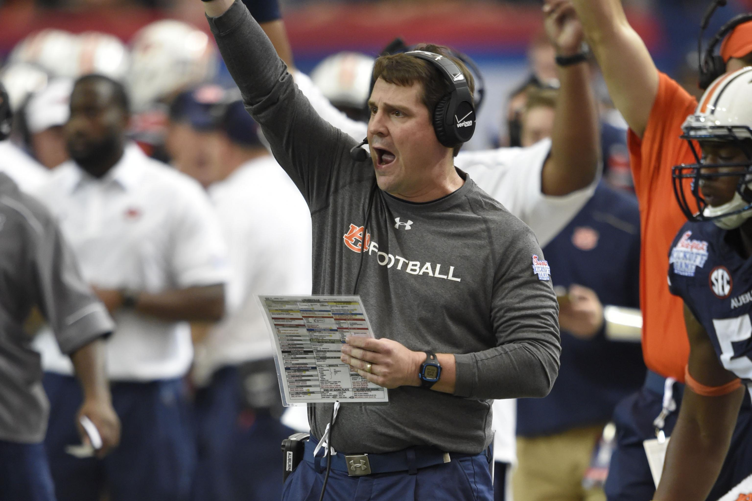 Will Muschamp Has Auburn's Defense on Right Path, but