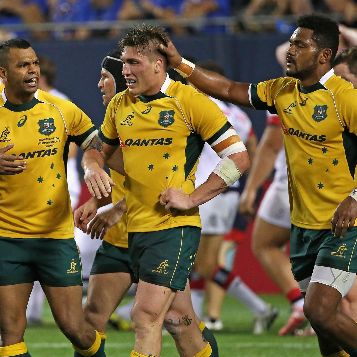 Australian Rugby Team Help Clean Up In Chicago
