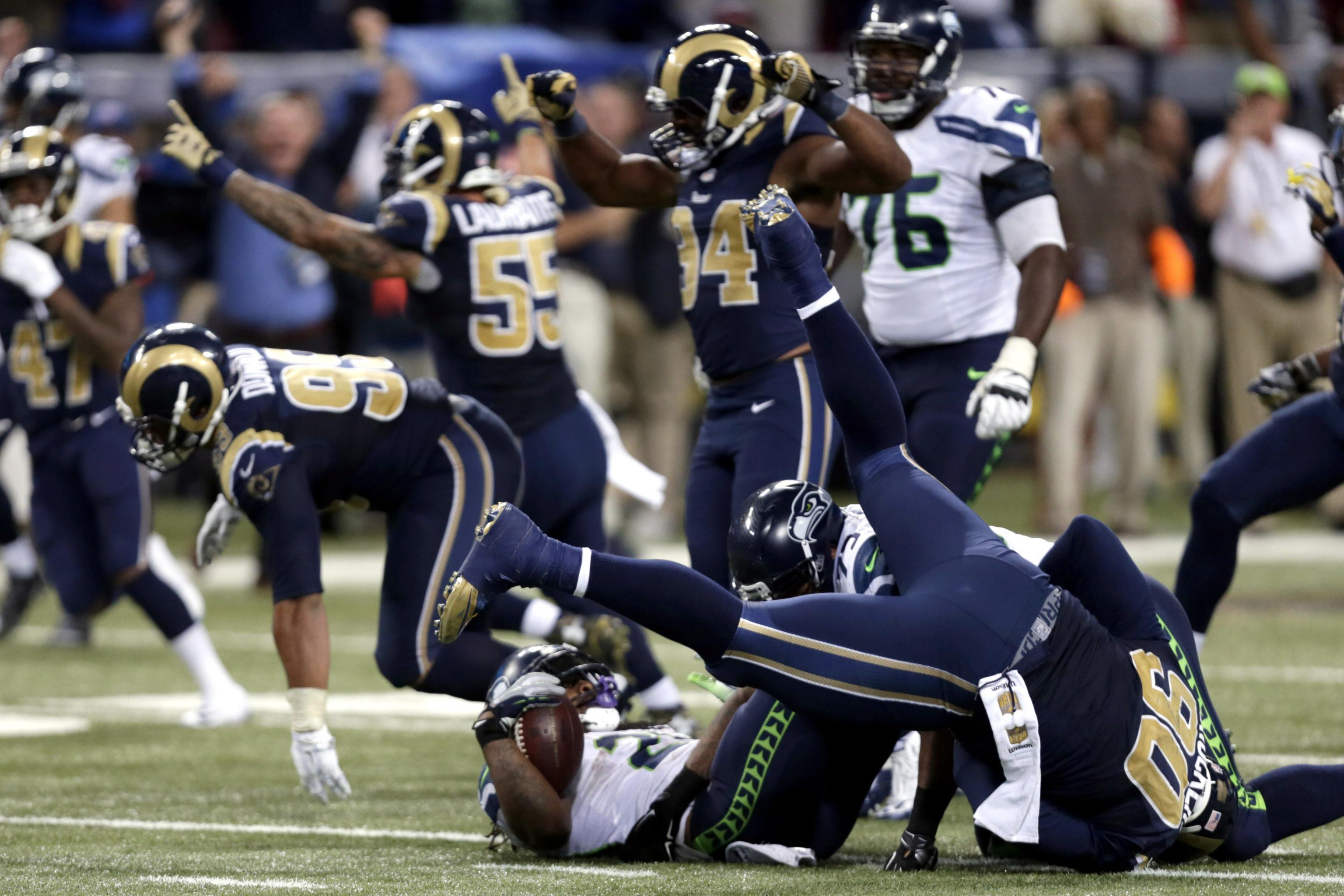 Seahawks Vs Rams Score And Twitter Reaction From 2015 Regular Season Bleacher Report Latest News Videos And Highlights