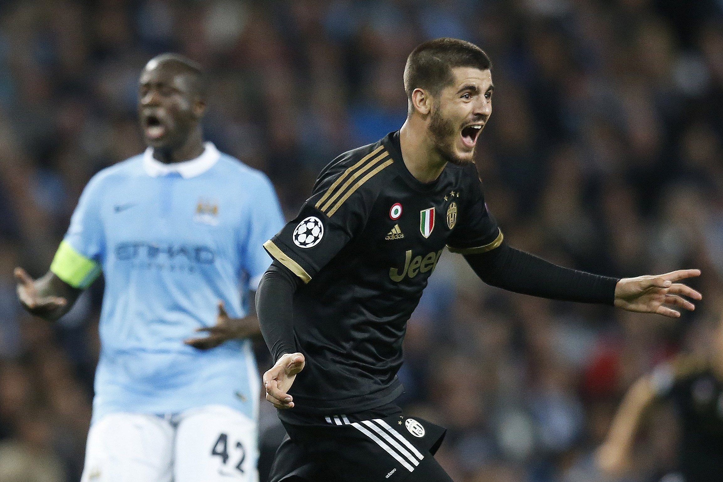 Manchester City Vs Juventus Score And Reaction From 2015 Champions League Bleacher Report Latest News Videos And Highlights