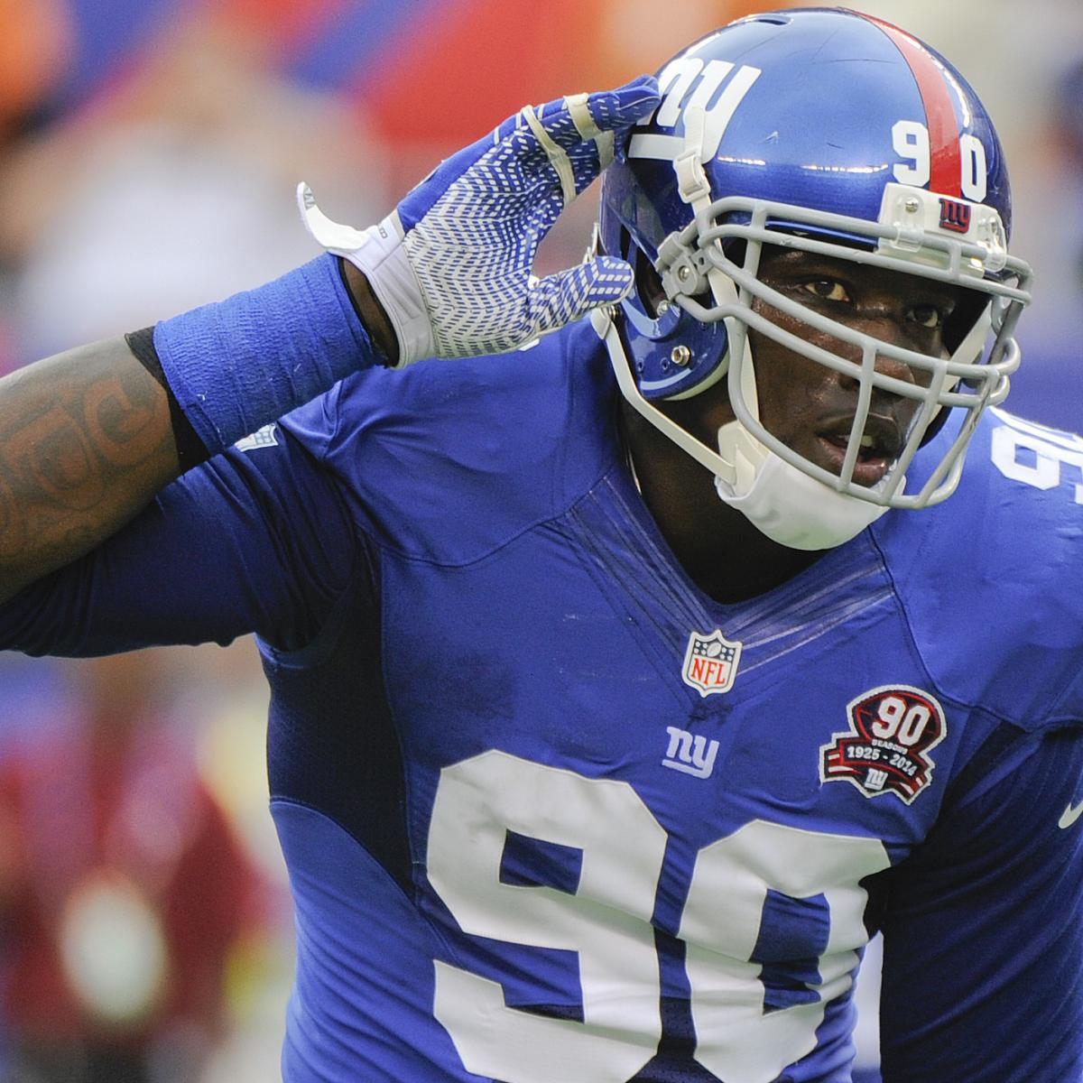 Jason Pierre-Paul Addresses Criticism Of On-Field Skills