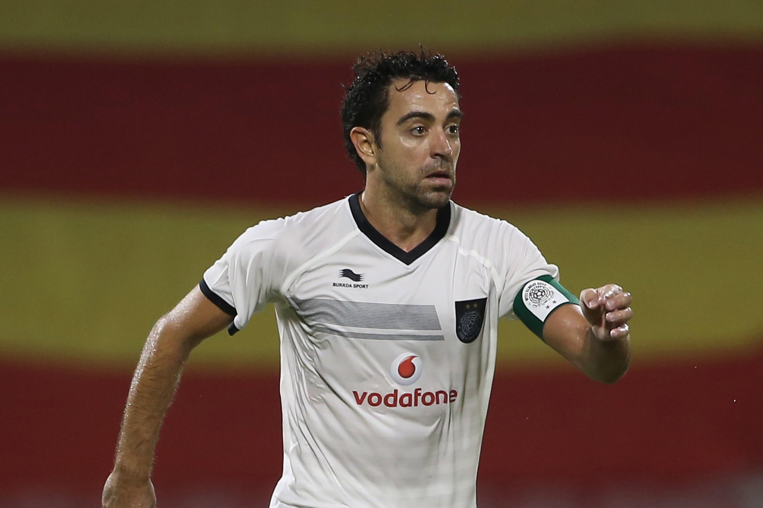 new product f2e48 a8001 Xavi Scores His 1st Goal for Al Sadd | Bleacher Report ...