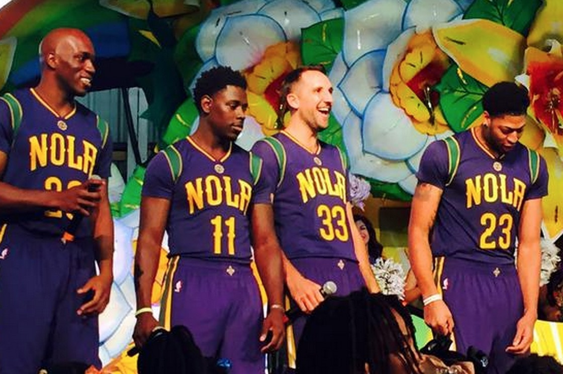New Orleans Pelicans Unveil Mardi Gras Themed Jerseys For