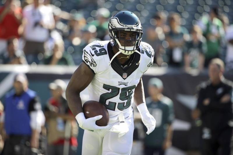 huge discount dd1bf bcbdf DeMarco Murray, Eagles RBs Rush for Combined -2 Yards vs ...
