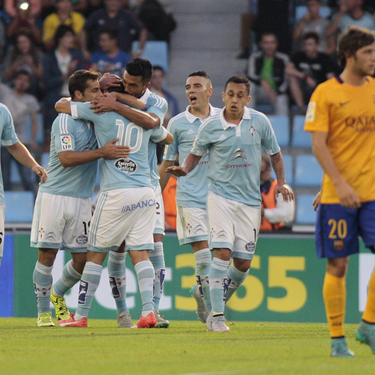 Celta Vigo Vs Barcelona Direct: Celta Vigo Vs. Barcelona: Score And Reaction From 2015 La
