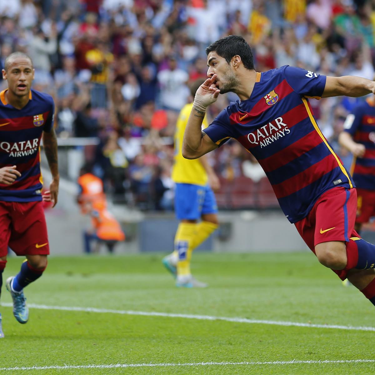 Barcelona Vs. Las Palmas: Score, Reaction From 2015 La
