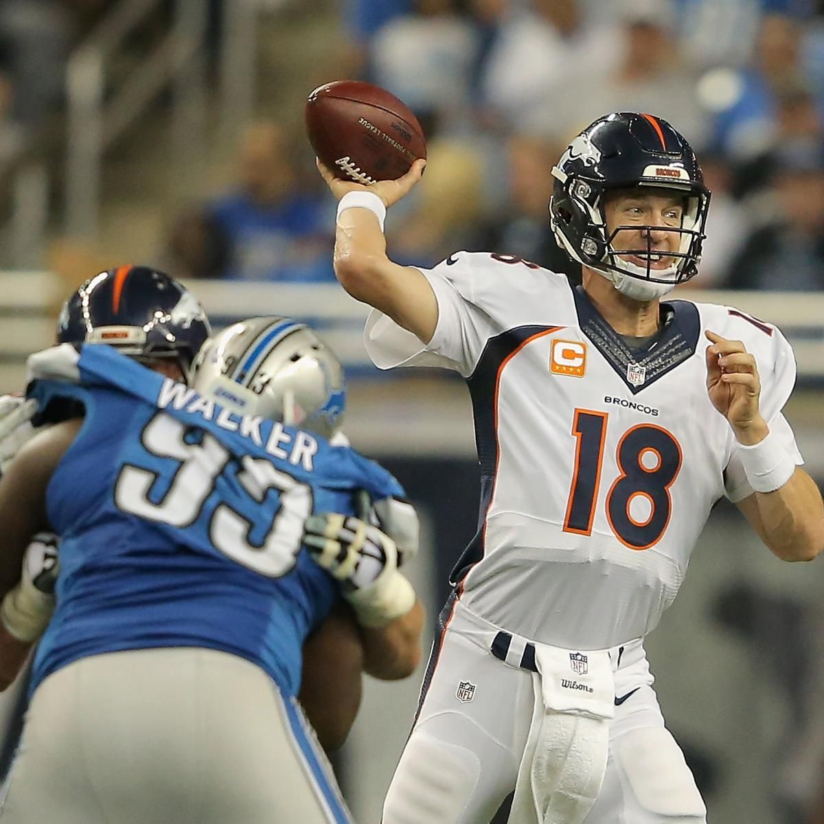Denver News Weekly: Denver Broncos Vs. Detroit Lions: Video Highlights And