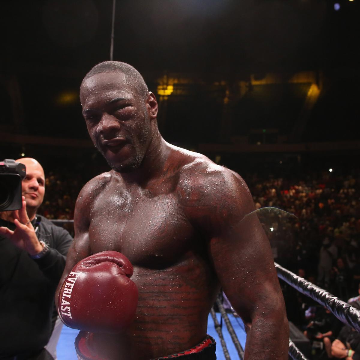 Deontay Wilder Vs. Alexander Povetkin Fight Reportedly To