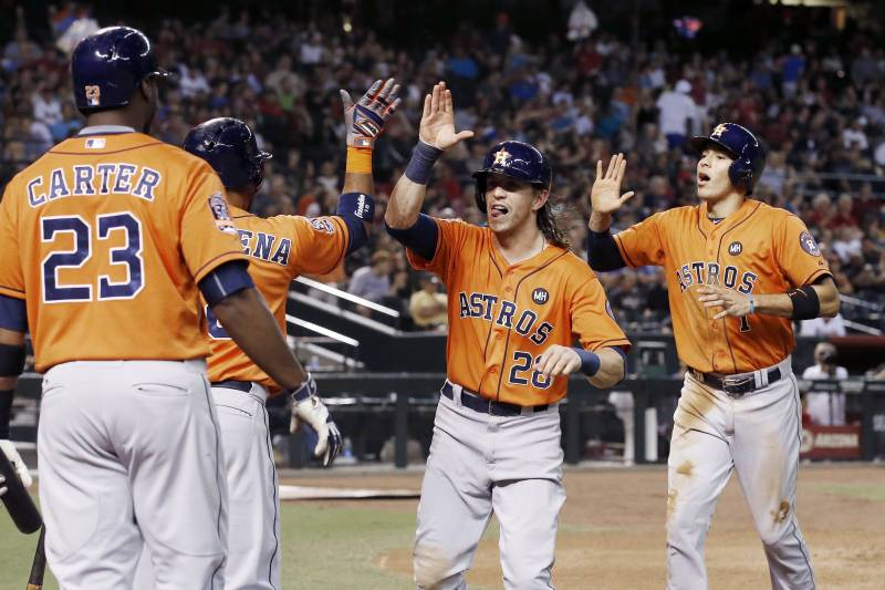 Astros Score 21 Runs Vs Diamondbacks Stats Highlights And
