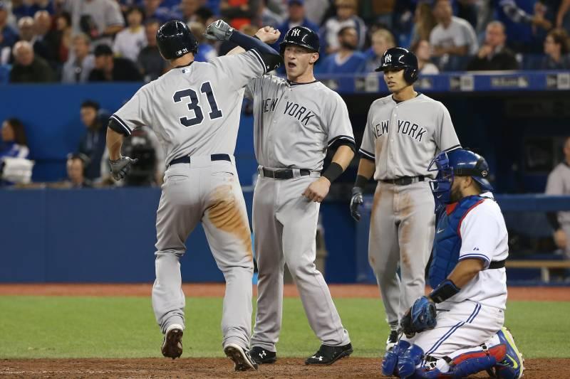 7282a4ab91e42 Yankees Farm System Rejuvenates Club During Playoff Push