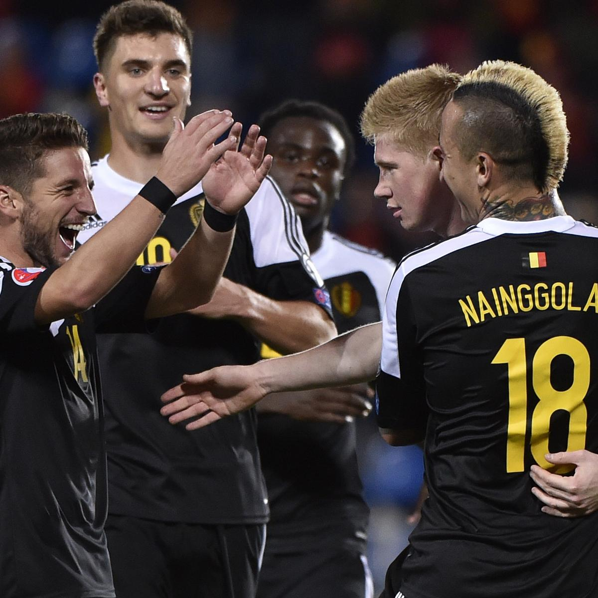 Andorra vs. Belgium: Goals and Highlights from Euro 2016 Qualifier