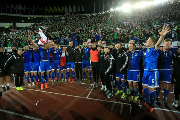 Euro 2016 Qualifying Results Sunday S Scores Group Tables Upcoming Fixtures Bleacher Report Latest News Videos And Highlights
