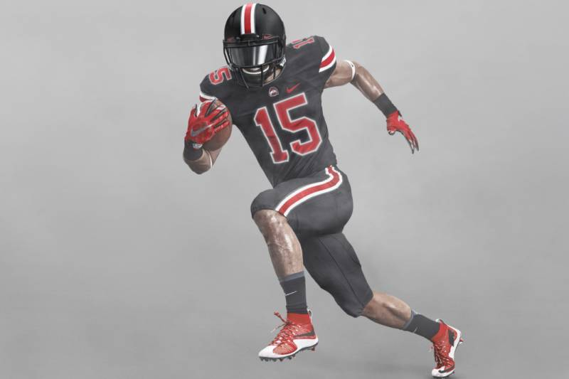 best sneakers e229f 789f7 Inside the Creation of Ohio State's New Black Uniforms ...