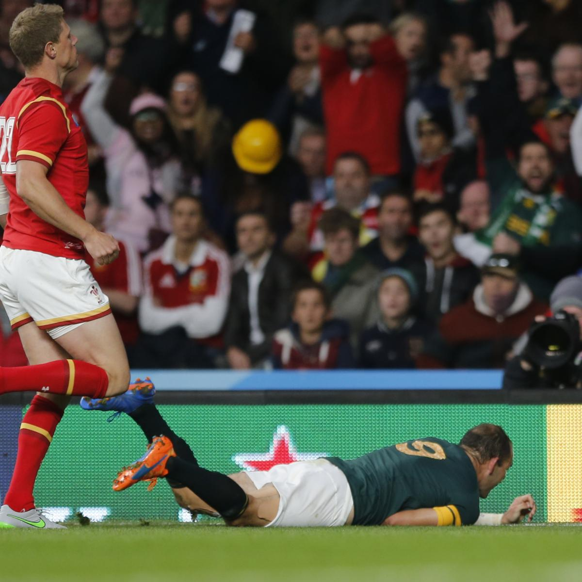 South West Rugby Cups: South Africa Vs. Wales: Score, Reaction From Rugby World