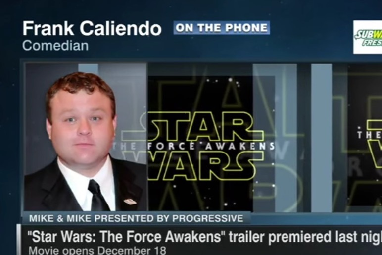 Frank Caliendo Reviews New Star Wars Trailer With ESPN