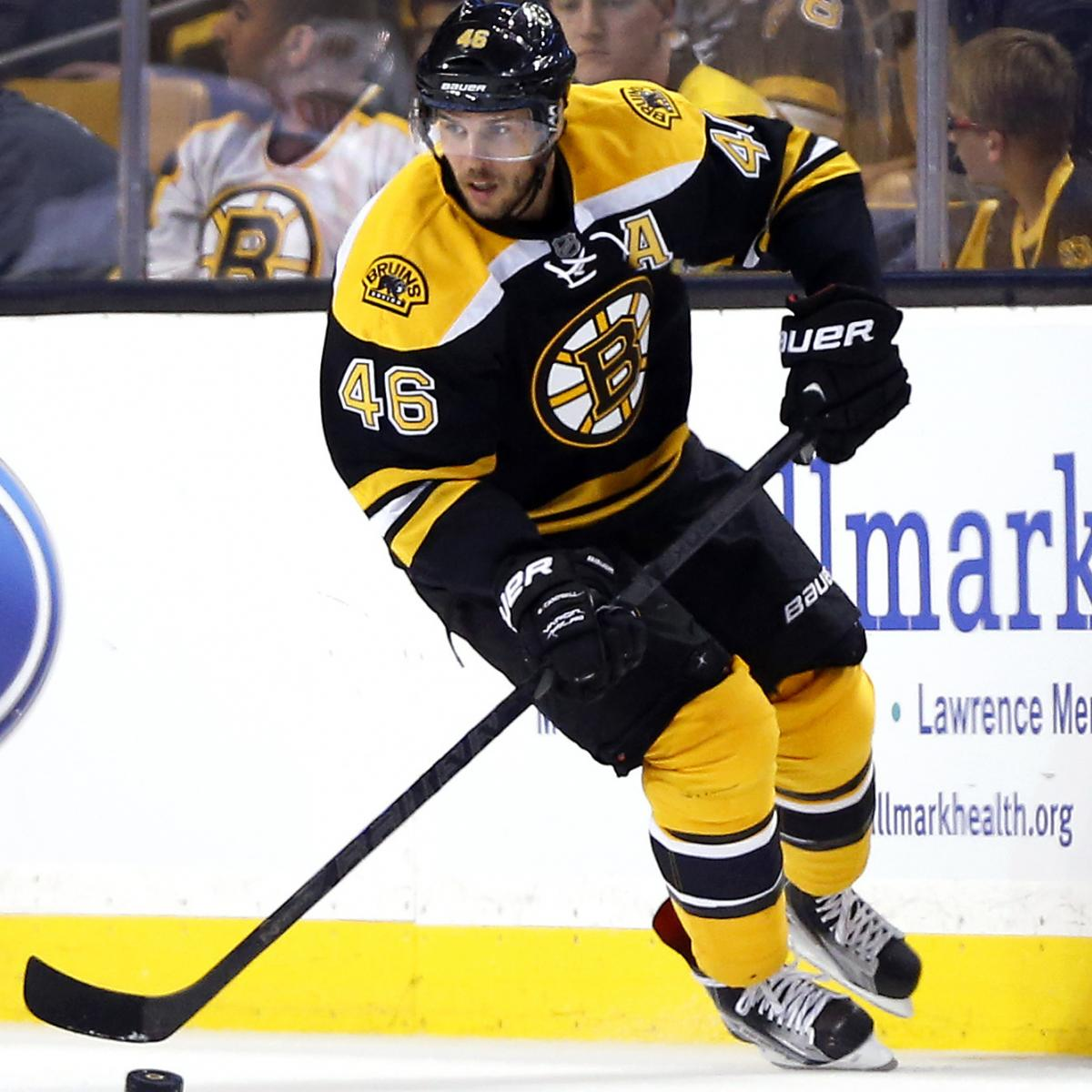 David Krejci Injury: Updates On Bruins Star's Recovery