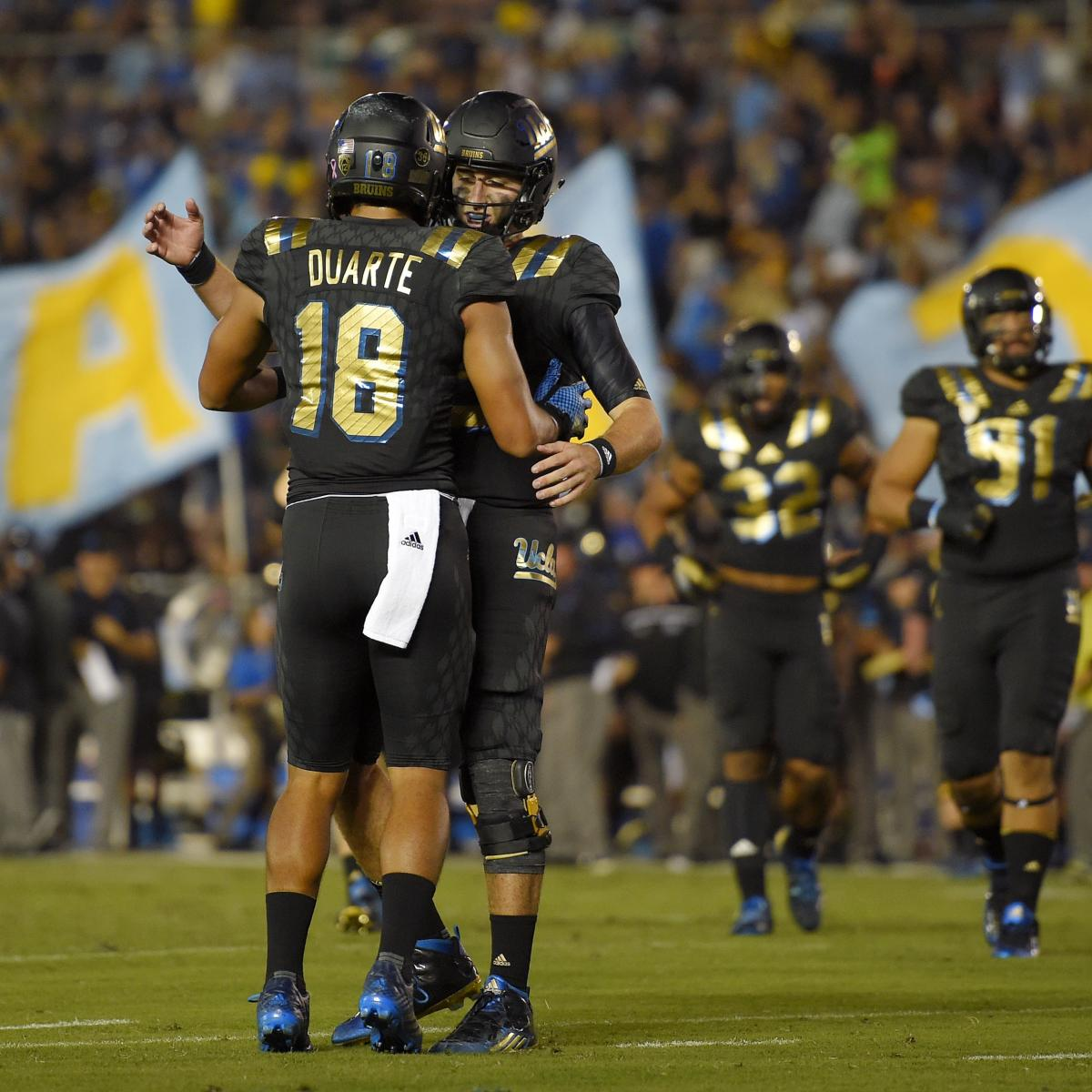 Photo Gallery Ucla Vs Cal: Cal Vs. UCLA: Score, Highlights And Twitter Reaction