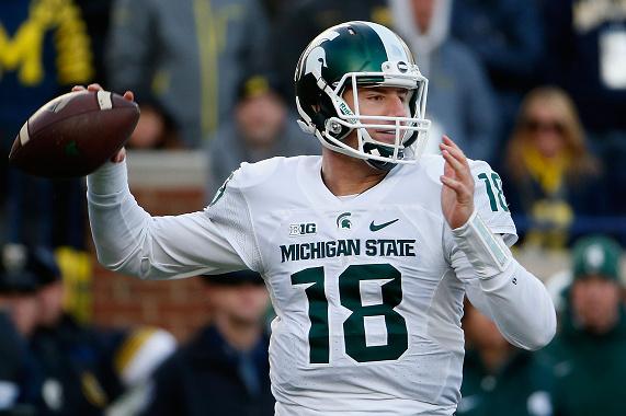 Image result for connor cook michigan state