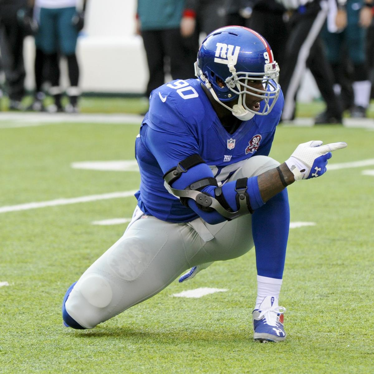 Jason Pierre Paul Signs One Year Deal With Giants: Jason Pierre-Paul, Giants Agree To New Contract