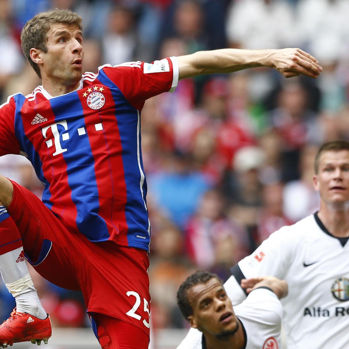 Eintracht Frankfurt vs. Bayern Munich: Team News ...