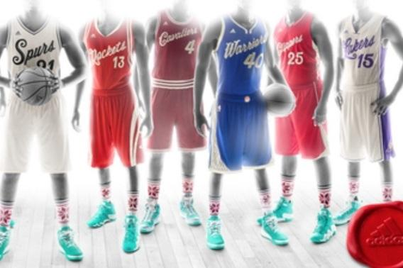 competitive price 511d1 da701 1st Look at NBA's Christmas Day Uniforms for 2015-16 Season ...