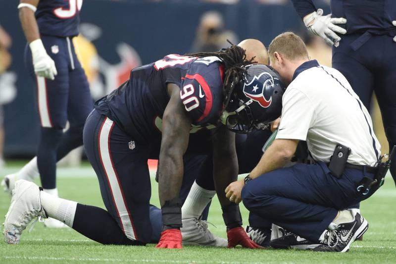 a2f22b64 Jadeveon Clowney Injury: Updates on Texans Star's Foot and Return ...