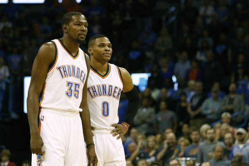 9a38c007e501 Kevin Durant Calls Russell Westbrook Oklahoma City Thunder s  Best Player