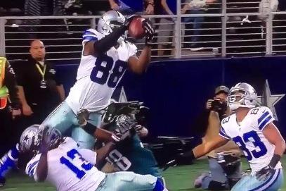 Dez Bryant Wins Jump Ball In End Zone Scores Game Tying Td