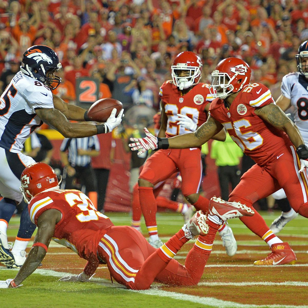 Denver Broncos Vs Detroit Lions Live Score Highlights And: Kansas City Chiefs Vs. Denver Broncos: Full Denver Game