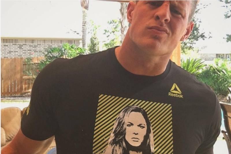 J J  Watt Backs Ronda Rousey Before Holly Holm Fight at UFC