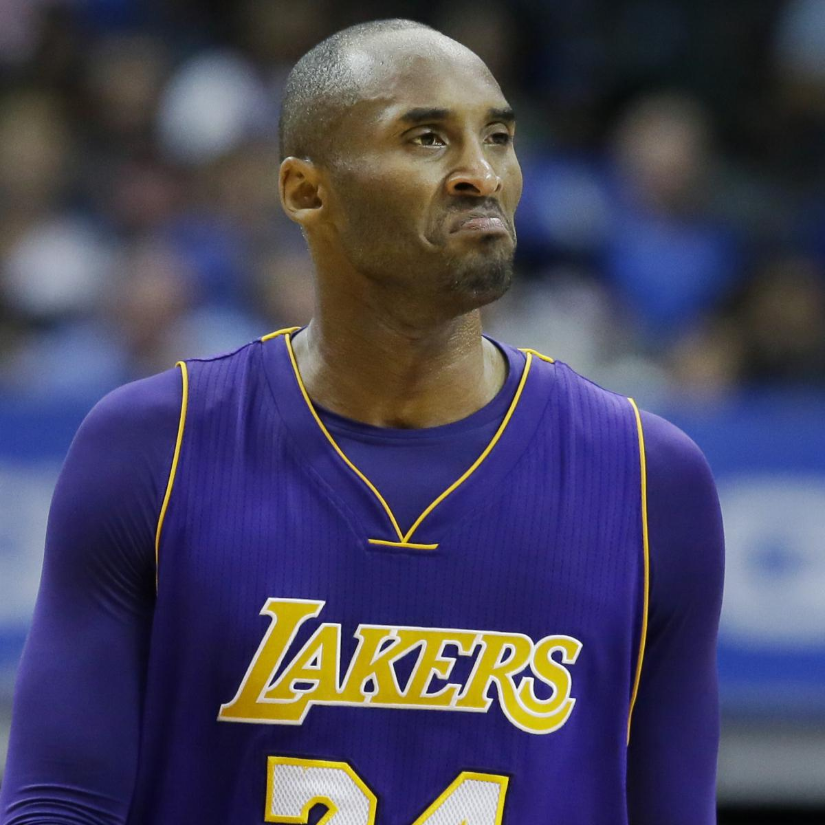 Nuggets Hall Of Famers: Kobe Bryant Injury: Updates On Lakers Star's Shoulder And