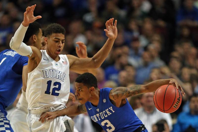 c1f5265b34b Kentucky vs. Duke  Live Score and Highlights from Champions Classic 2015