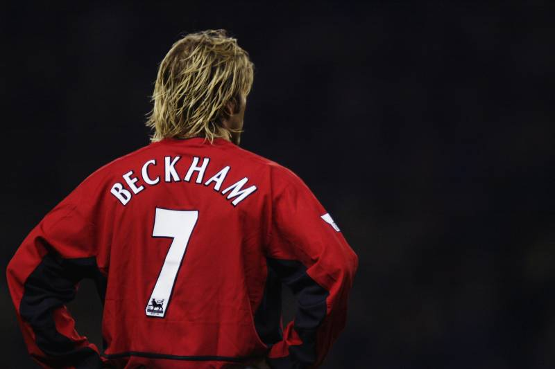 0255bb4da David Beckham Says Manchester United s No. 7 Shirt Should Be an Inspiration