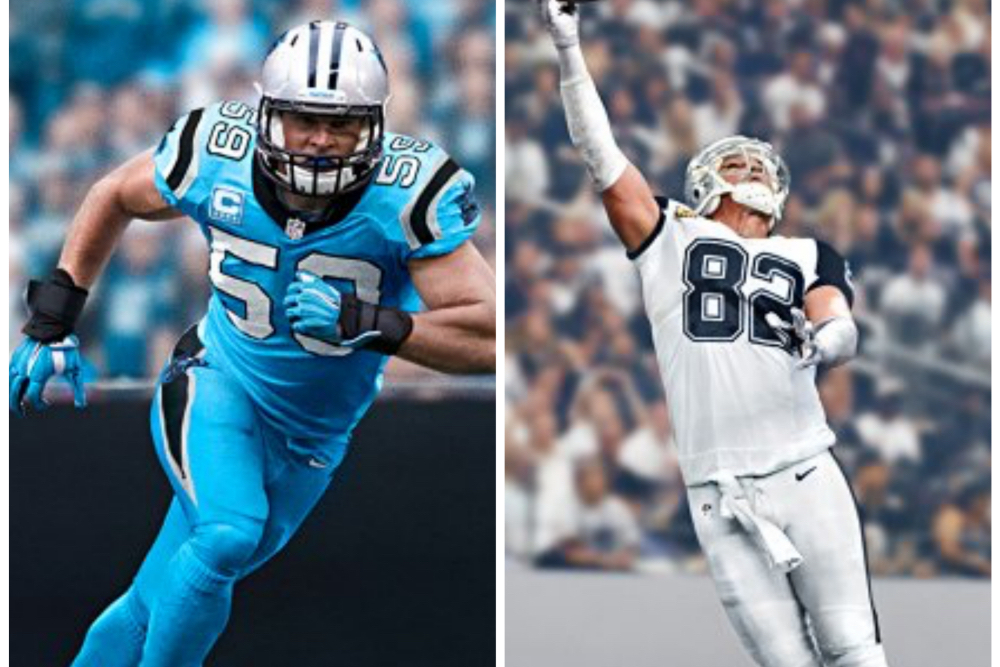 low priced 9fe4f 805a1 Panthers and Cowboys Unveil 'Color Rush' Uniforms for ...