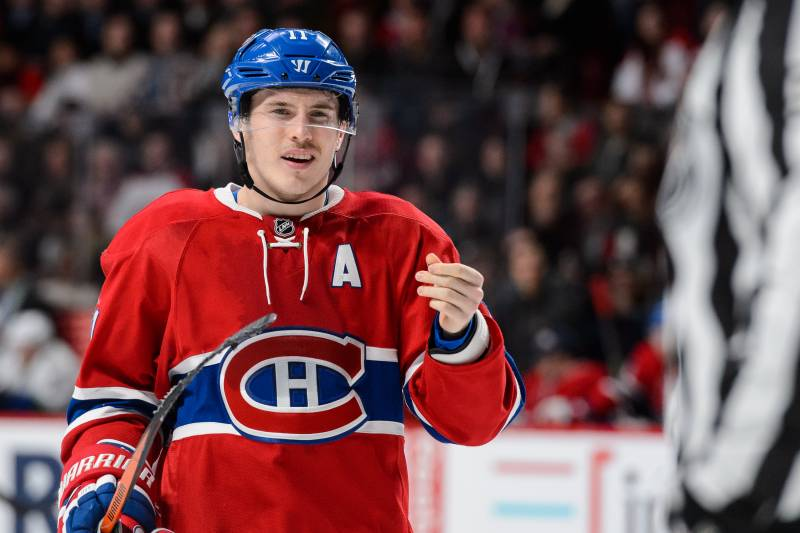 timeless design 3cf74 7ac6e Brendan Gallagher Injury: Updates on Canadiens Wing's Hand ...