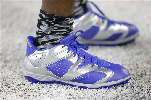 090457530eb The Dopest Custom Kicks This NFL Season | Bleacher Report | Latest ...