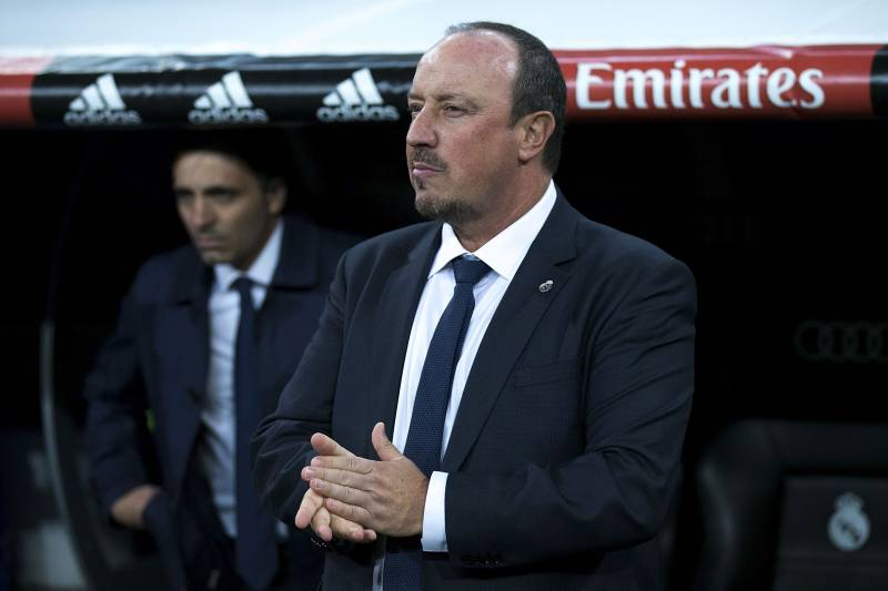 Image result for rafa benitez rubbing hands
