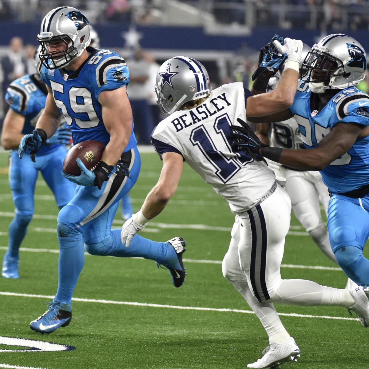 Panthers vs. Cowboys  Score c63dec628