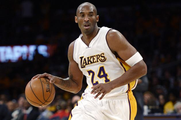 separation shoes 5c0cc 71f48 Lakers Debating Which Kobe Bryant Jersey Number to Retire ...