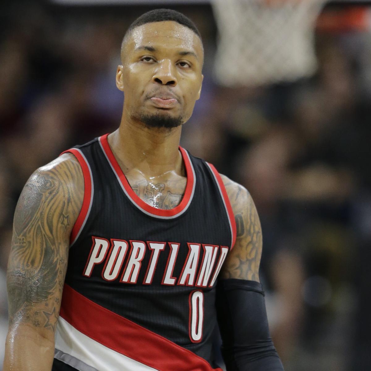 Portland Trail Blazers Injury News