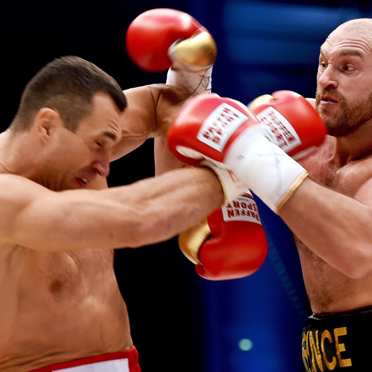 Klitschko Fury Highlights