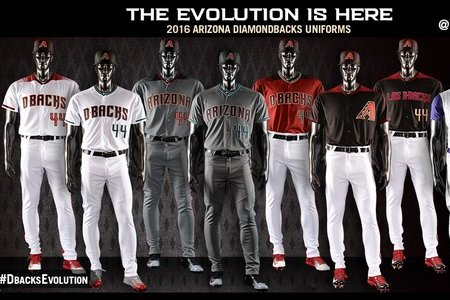 competitive price 6a31a 7b21b Arizona Diamondbacks Unveil New Logos, Uniforms for 2016 ...