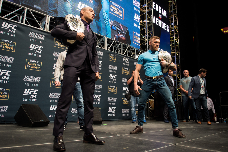 Conor McGregor Talks Jose Aldo, Tyson Fury, More in UFC 194 Press Conference