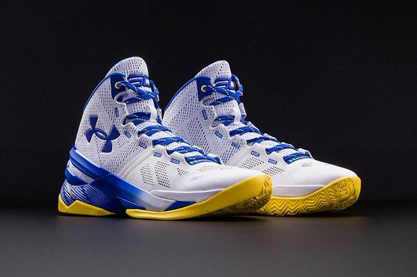 cheap for discount d9913 a2e36 Under Armour Curry 2  Dub Nation Home  Release Date, Pics and Retail Price    Bleacher Report   Latest News, Videos and Highlights